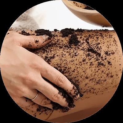 Peeling kawowy na cellulit